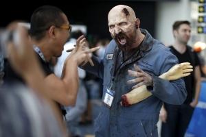 Trade show zombie